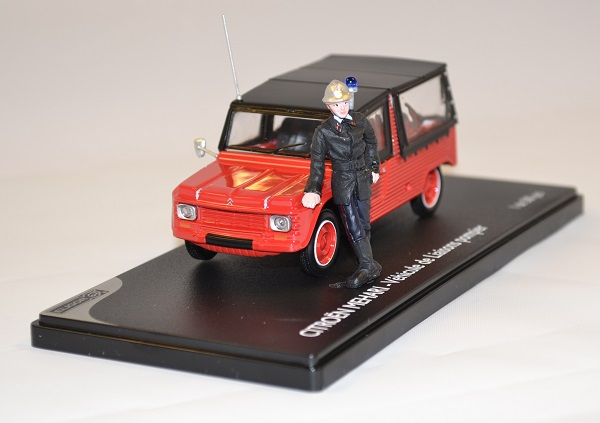citroen m hari pompier avec figurine miniature eligor 1 43. Black Bedroom Furniture Sets. Home Design Ideas