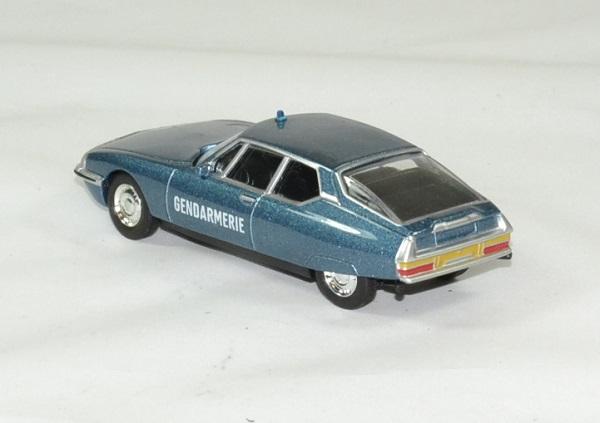 Citroen sm gendarmerie 1971 norev 1 64 autominiature01 2