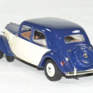 Citroen traction 15 bleu 1949 1 43 norev autominiature01 2