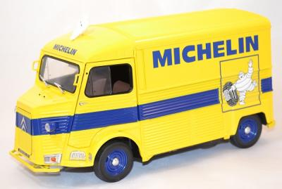 "Citroen type hy fourgon ""michelin"" miniature Solido 1/18"