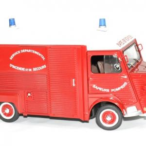 Citroen type hy pompier 1969 solido 1 18 autominiature01 3