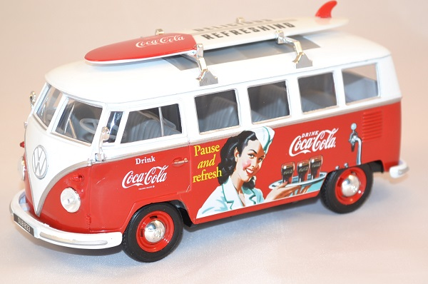 Coca cola bus wolkswagen oxford we001cc miniature autominiature01 com 1