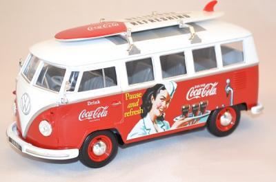 Volkswagen T1 minibus Coca Cola