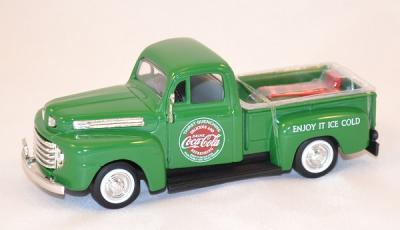 Ford F1 pick up 1948 green delivery Coca Cola 1/43 Motor City