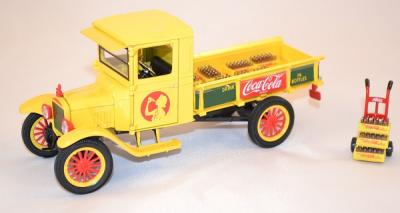 Ford model TT Pick up 1923 yellow delivery Coca Cola 1/32 Motor City