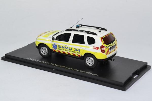 Dacia duster samu34 secours alarme 1 43 0012 autominiature01 2