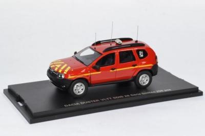 Dacia Duster Sapeurs Pompiers SDIS 28 Eure et loir