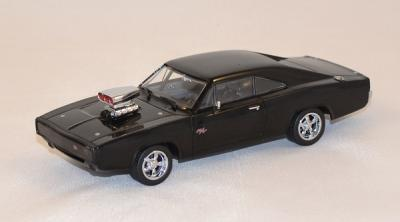 Dodge Charger 1970 Dom's car fast and furious 5 2011 greenlight 1/43