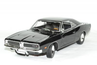Dodge charger R/T black 1969