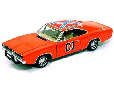 Dodge Charger General Lee 1969 Dukes of Hazard 1-18