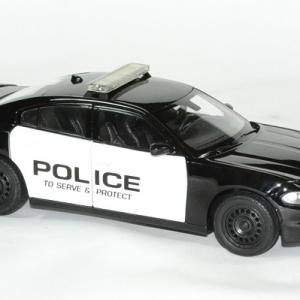 Dodge charger police 2016 welly 1 24 autominiature01 3