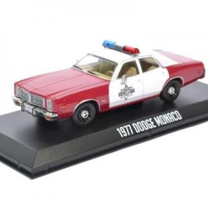 Dodge monaco 1977 finchburg police 1 43 autominiature01 greenlight green86573 1