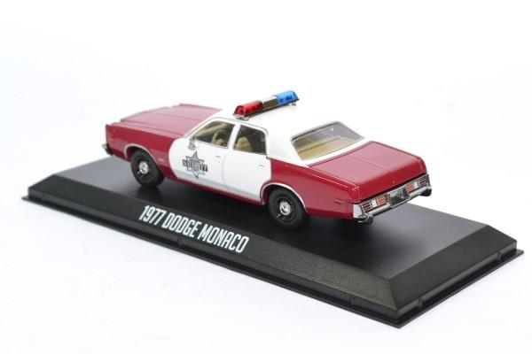 Dodge monaco 1977 finchburg police 1 43 autominiature01 greenlight green86573 2