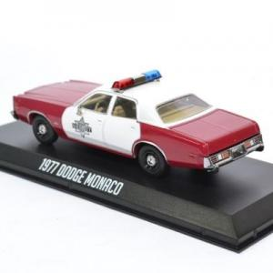 Dodge monaco 1977 finchburg police 1 43 autominiature01 greenlight green86573 2