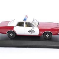 Dodge monaco 1977 finchburg police 1 43 autominiature01 greenlight green86573 3