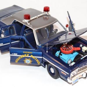 Dodge monaco poursuite police 1975 ameciran muscle 1 18 autominiature01 com amm1009 2