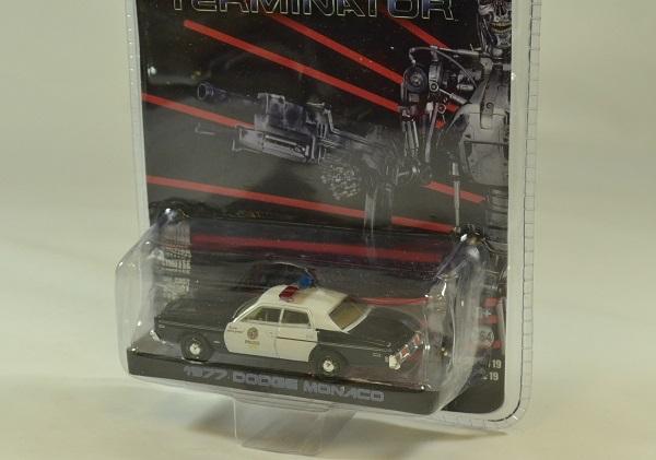 Dodge monaco terminator 1984 film 1 64 greenlight autominiature01