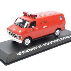 Dodge ram B250 van 1983 fire department of New York FDNY