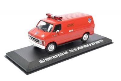 Dodge ram B250 van 1983 the official fire department of New York FDNY