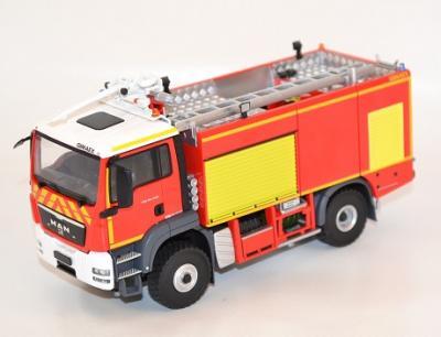 Man TGS Vim Gimaex Sapeurs Pompiers