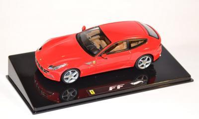 Ferrari FF rouge miniature Hotwheels Elite au 1-43 W1187