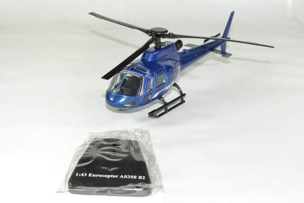 Eurocopter ecureuil police as350 1 43 new ray autominiature01 1