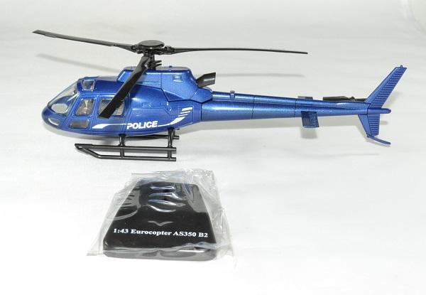 Eurocopter ecureuil police as350 1 43 new ray autominiature01 2