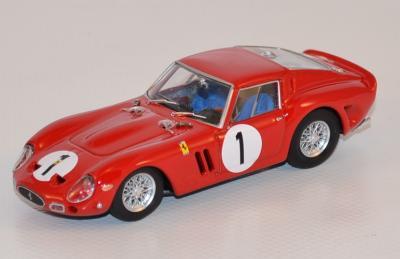 Ferrari 250 GTO 1er 1000km Paris 1962 #1 Rodriguez  Brumm  1/43 Brur530