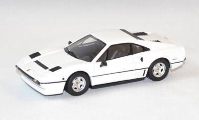 Ferrari 208 gtb turbo blanche de 1982