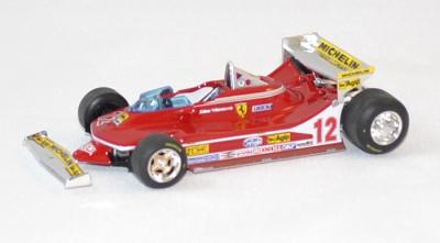 Ferrari 312 t4 1er gp usa villeuneuve #12 1979