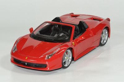 Ferrari 458 spider 1 24 bburago autominiature01 1