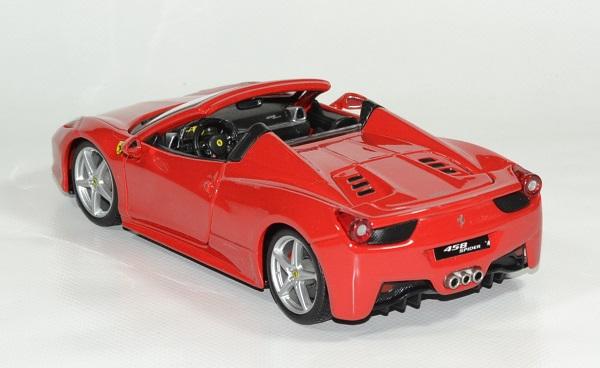 Ferrari 458 spider 1 24 bburago autominiature01 2