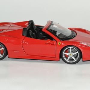 Ferrari 458 spider 1 24 bburago autominiature01 3