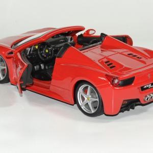 Ferrari 458 spider 1 24 bburago autominiature01 4