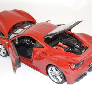 Ferrari 488 gtb 1 18 bburago www autominiature01 com 2