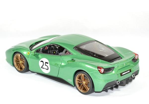 Ferrari 488 gtb green jewel 1 18 bburago autominiature01 2