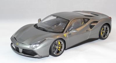 Ferrari 488 gtb grise
