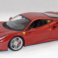 Ferrari 488 gtb rouge bburago 1 24 bur26013 vermillon autominiature01 1
