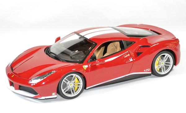 Ferrari 488 gtb schumacher 1 18 bburago autominiature01 1