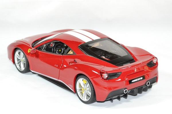 Ferrari 488 gtb schumacher 1 18 bburago autominiature01 2