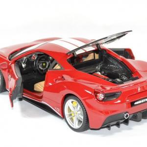 Ferrari 488 gtb schumacher 1 18 bburago autominiature01 3
