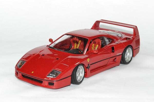 Ferrari f 40 bburago 1 18 autominiature01 1