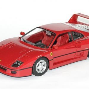 Ferrari f 40 rouge 1 24 bburago autominiature01 1