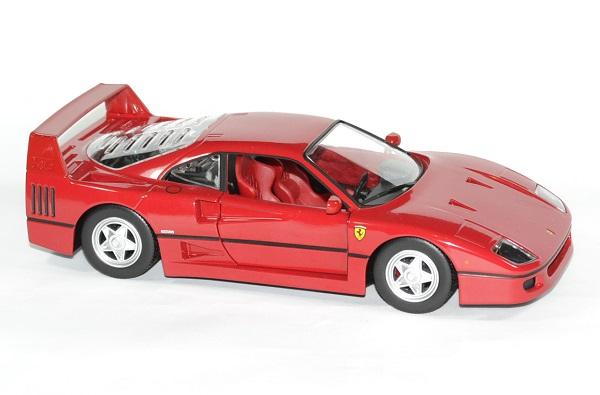 Ferrari f 40 rouge 1 24 bburago autominiature01 3
