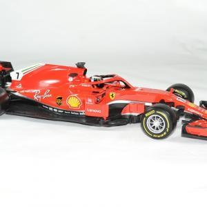 Ferrari f1 raikkonen 2018 sf71 1 18 bburago autominiature01 3