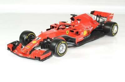 Ferrari SF71H S. vettel #5 formule 1 2018