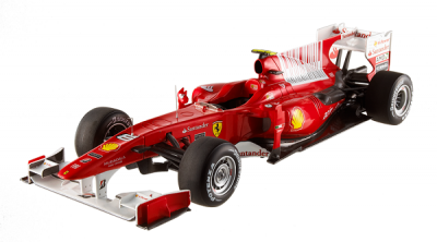 Ferrari F10 1er Barhain 2010 #8 Fernando Alonso hotwheels-elite 1-18
