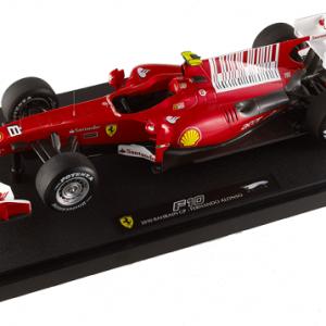 Ferrari f10 1er barhain 2010 alonso hotwheels elite 1 18 autominiature01 t6257 2