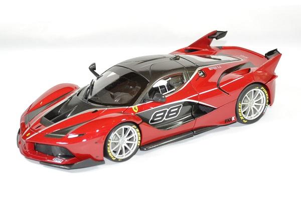 Ferrari fxx k 1 18 rouge bburago autominiature01 1