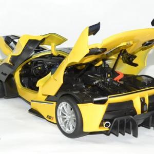 Ferrari fxxk jaune 1 18 bburago 1 18 autominiature01 1